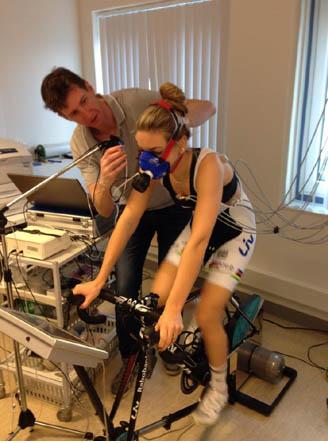 VO2max Testen Rabo Liv Team