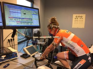 VO2max Test on Cycle ergometer