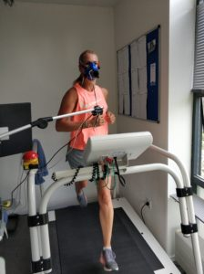 VO2max Test on treadmill
